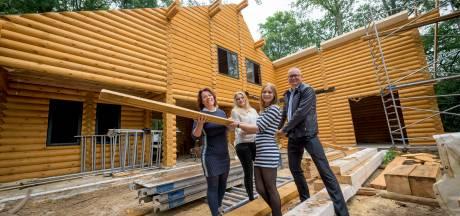 Wonen in een blokhut van Russisch hout op oale groond bij Denekamp