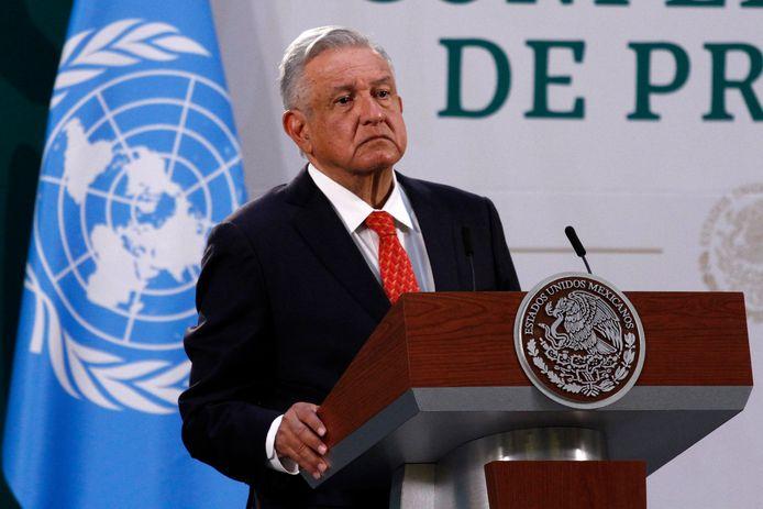 Mexicaans president Andrés Manuel López Obrador