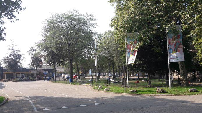 Entree van vakantiepark Droomgaard in Kaatsheuvel.
