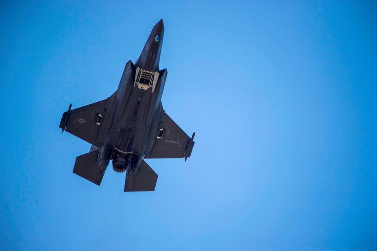 Een F-35 van Lockheed Martin. Beeld AFP