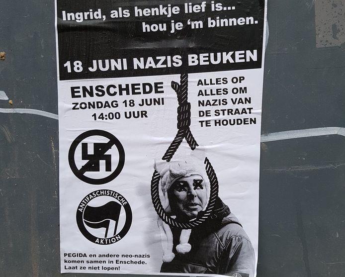 Het betreffende poster