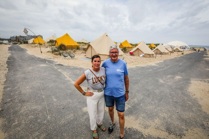 Griet Huyberechts en Ronny Bayens van Connections
