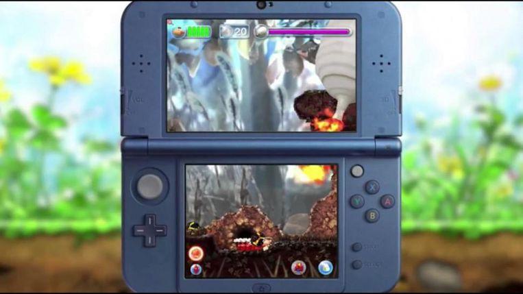 Met de 2DS XL keren de Japanners terug naar de basis. Beeld Nintendo