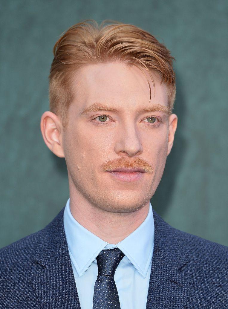 Met zijn lelieblanke huid en rossige haar is Domhnall Gleeson geschikt voor een variatie aan personages. Beeld Getty Images