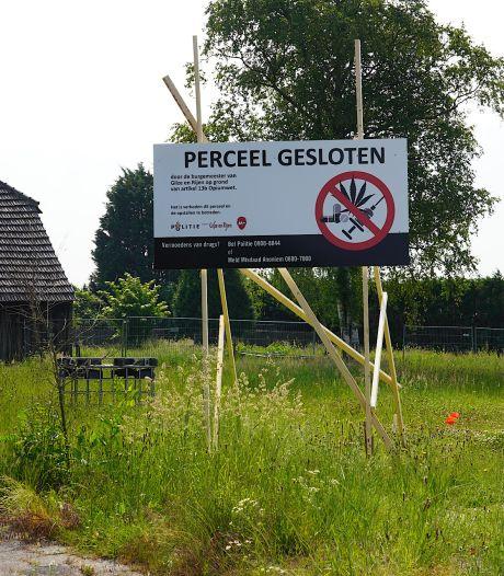 Terrein Jan B. in Hulten ook na kort geding twee jaar dicht na derde drugsvondst