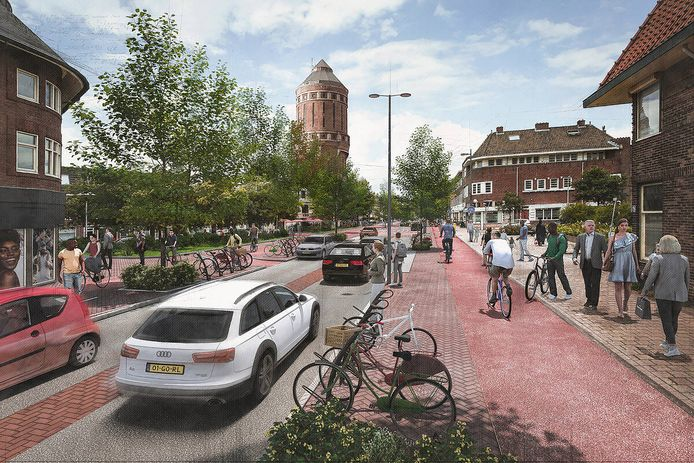 Een toekomstbeeld van de Amsterdamsestraatweg.