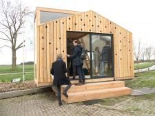Eerste vier tiny houses komen aan de Gaddijk in Spijkenisse
