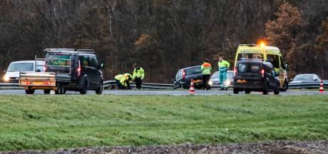 Verkeer op de A6 lang vast gestaan door ongeval