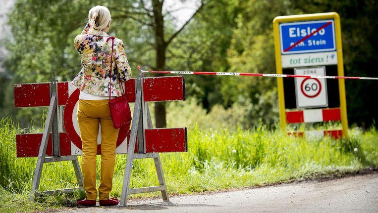 De politie zocht vorige week in het bos bij het Limburgse Elsloo naar de broertjes Ruben en Julian. Beeld anp