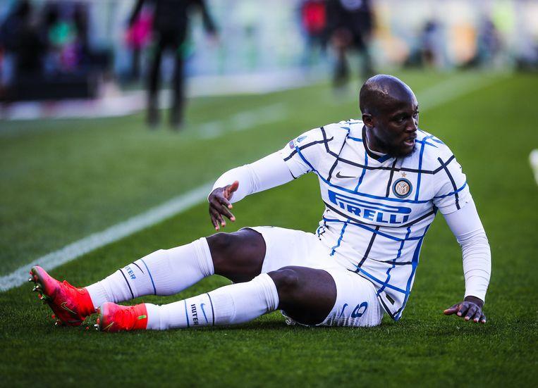 Inter-spits Romelu Lukaku. Beeld Photo News