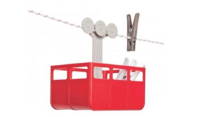 Vangst van de dag: skicabine voor je wasknijpers