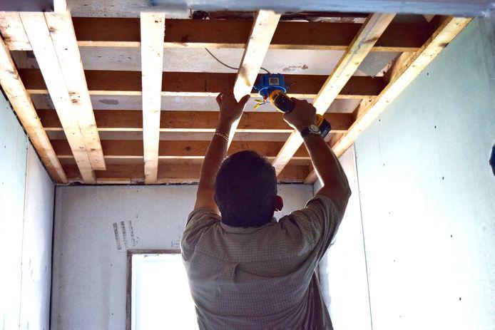 stockadr stockpzc bouwen bouwplan wonen klussen huis klusjesman verbouwing plafond