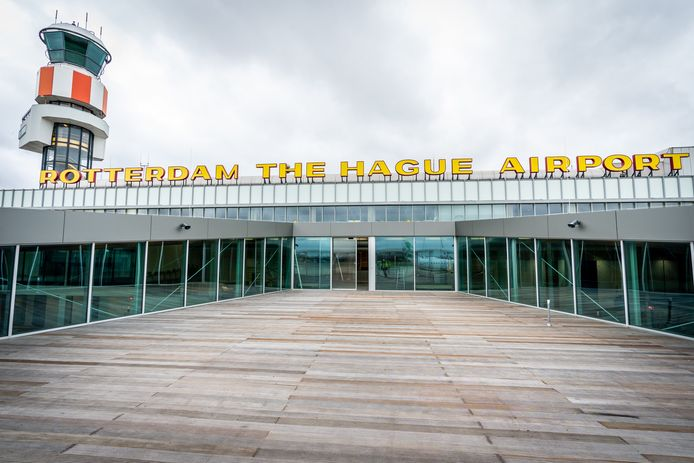 De nieuwe vertrekhal van Rotterdam The Hague Airport wordt in december voor het eerst gebruikt