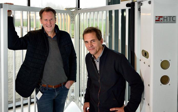 Directeur Peter Thun en business innovation manager Stefan Morsink van HTC Parking & Security in Waddinxveen.