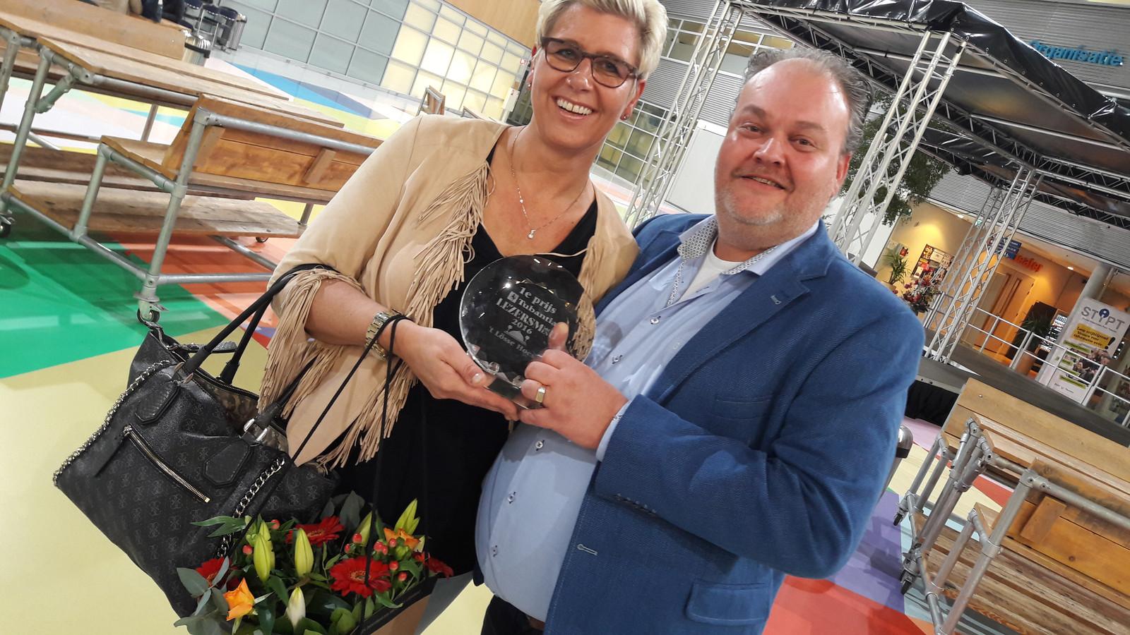 Winnaars Paulien en Vincent Vree van Het Losse Hoes.