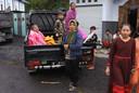 Honderden mensen zijn het natuurgeweld op Java ontvlucht en lieten huis en haard achter.