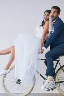 Des paires de Converse personnalisées pour se marier en baskets