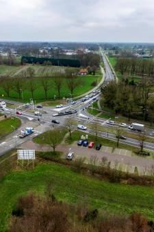 Wéér vertraging bij aanpak N35-kruispunt Bos in Raalte: planning pas in januari 2022 bekend