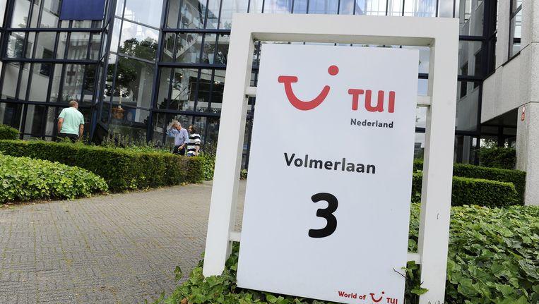 Het hoofdkantoor van de reisorganisatie TUI Nederland Beeld ANP