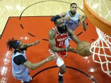Onstuitbare Harden laat Rockets domineren