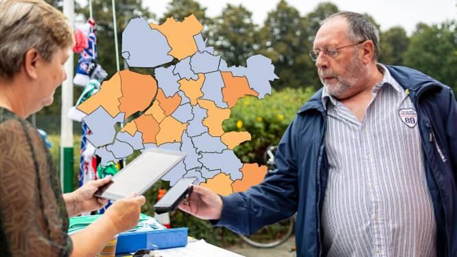 KAART | Elf gemeenten zonder positieve tests in Oost-Nederland, opsteker voor Flevoland