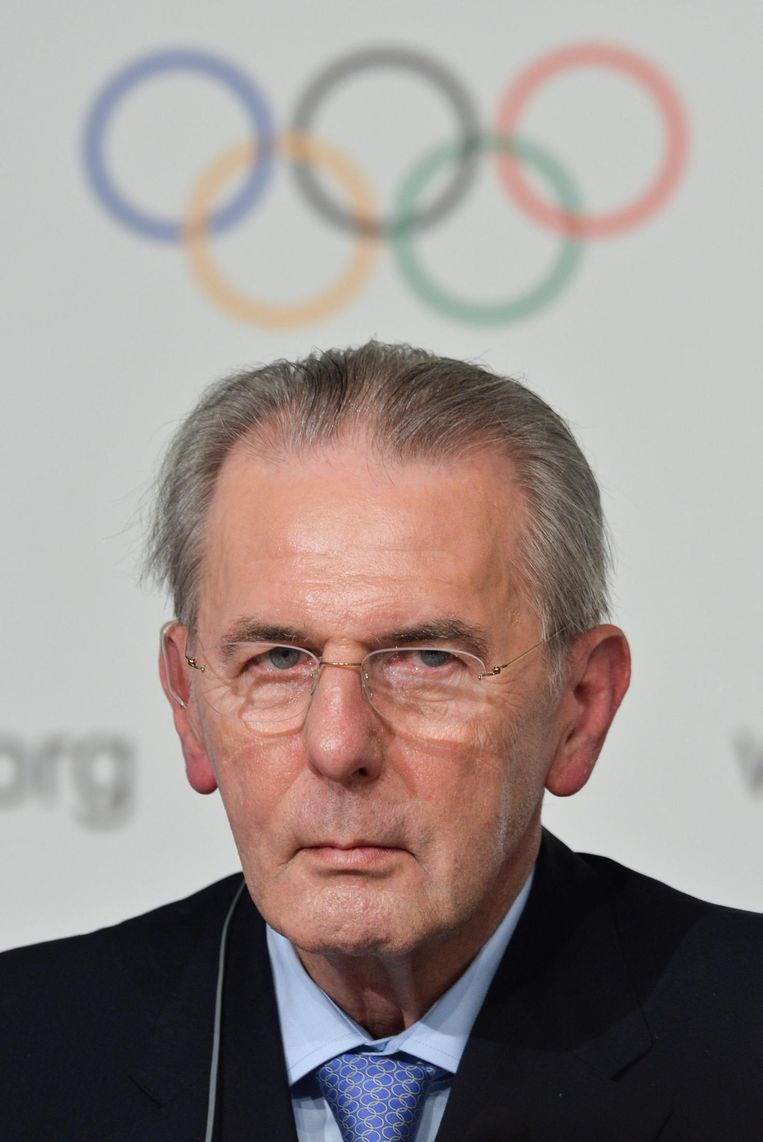 Voormalig IOC-voorzitter Jacques Rogge. Beeld null