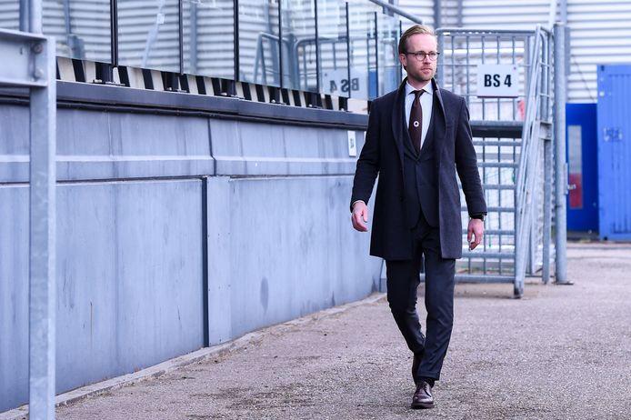 Daan Bovenberg, de jongste directeur in het betaalde voetbal.