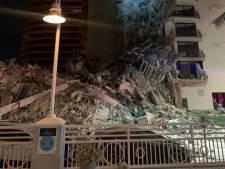 Woonflat in Miami deels ingestort na 'enorme knal', vrees voor slachtoffers
