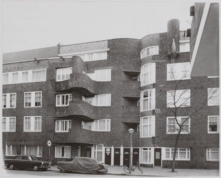 Margaret Staal-Kropholler: woningen in de Holendrechtstraat in Amsterdam (1923).  Beeld Stadsarchief Amsterdam
