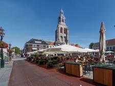 Terrassen binnenstad Bergen op Zoom blijven zoals vorig jaar, met ruimere opzet