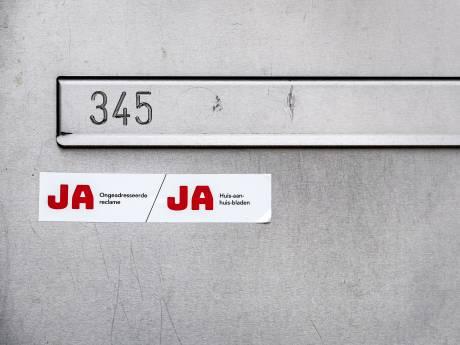 Reclamefolders volgend jaar misschien alleen nog op verzoek in de brievenbus: 'Een logische stap'