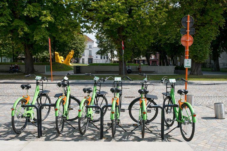 Het fietsdeelproject Mobit is gisteren van start gegaan in Mechelen.