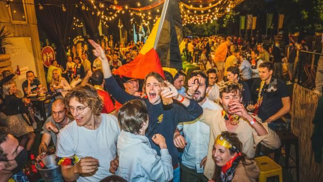 """Zo beleefde Gent de match tegen de Russen: """"Er hangt hier festivalsfeer in de lucht"""""""