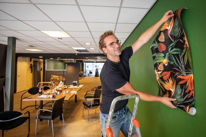 Brian van Deth verwezenlijkt zijn droom: een eigen bloemenzaak.
