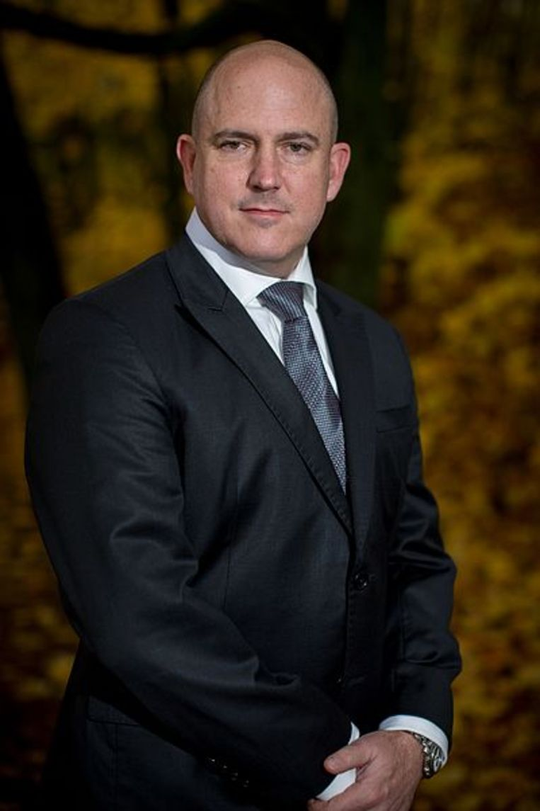 John Mark Dougan, de voormalige adjunct-sheriff van Palm Beach County.