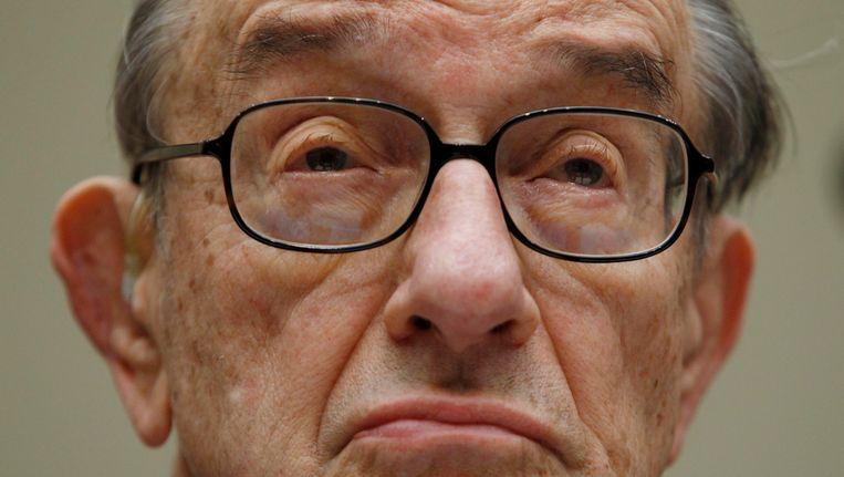 Alan Greenspan Beeld REUTERS