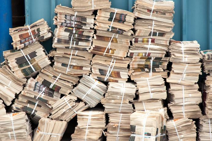 Print is op zijn retour en daarmee een belangrijke inkomstenbron van kranten: advertenties.