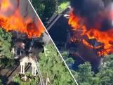 Villa van ruim 900 vierkante meter brandt af in Texas