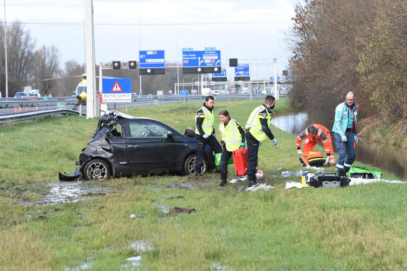 Ongeval A2 ter hoogte van Nieuwegein