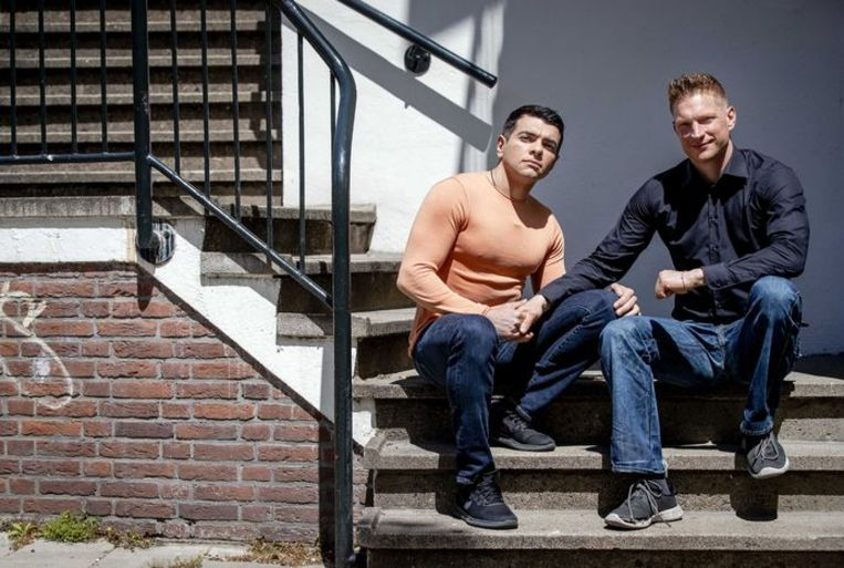 Slachtoffers Fabio en Daniël. Beeld ANP
