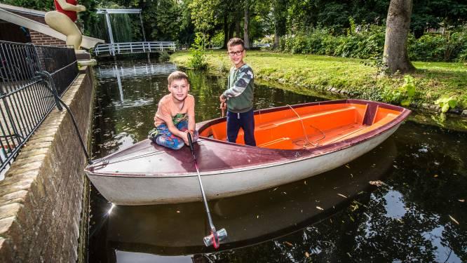 Tijs en Jesse uit Borculo gaan voor schone gracht - en misschien wel voor de Nationale Kinderprijs