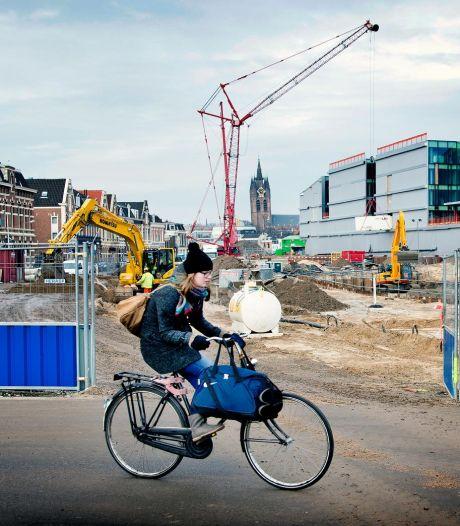 Bouwen langs spoor krijgt navolging: Delft inspireert andere steden