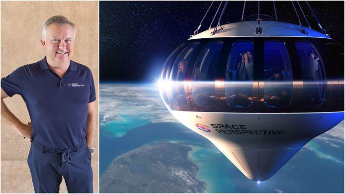 David zal in 2025 de eerste ruimtetoerist van ons land worden.