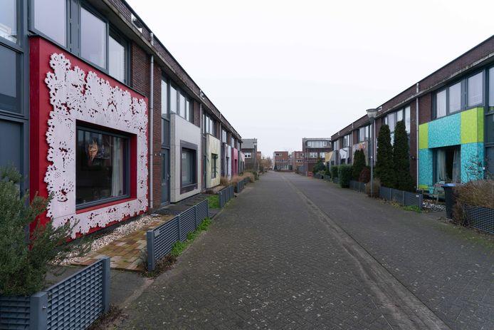De bewoners van de Rolling Stonesstraat in Lent hadden keus genoeg voor de kunst aan hun gevel.