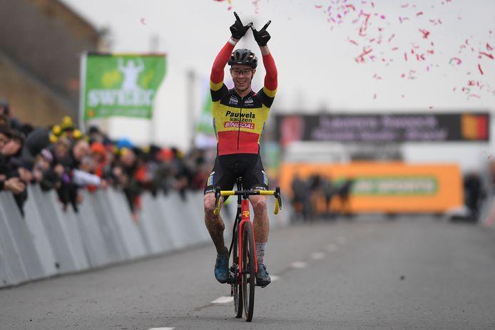Laurens Sweeck won vorig jaar de Superprestige bij de mannen.