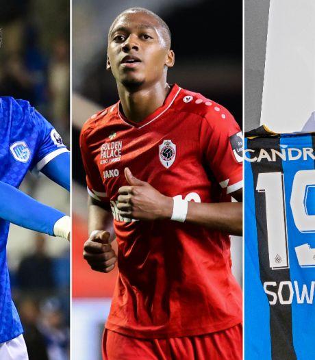 """Les clubs de foot belges ont dépensé la somme folle de 120 millions d'euros: seul le """"Big 5"""" a dépensé plus d'argent"""