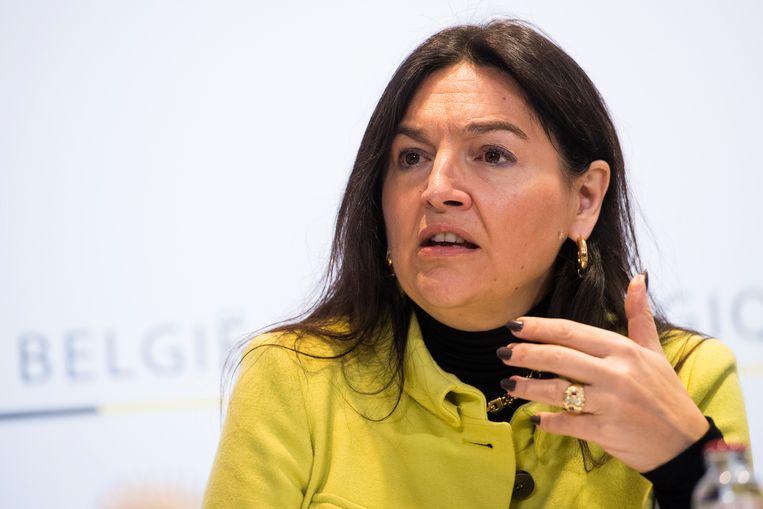 Energieminister Marie Christine Marghem (MR). Beeld BELGA