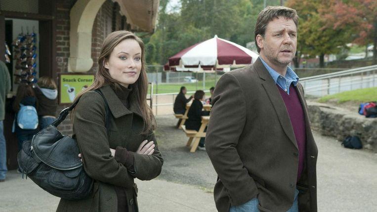 Olivia Wilde en Russell Crowe in The Next Three Days van Paul Haggis. Beeld