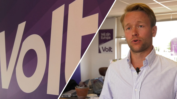 Beginnende lijsttrekker maakt opmars met Europese partij