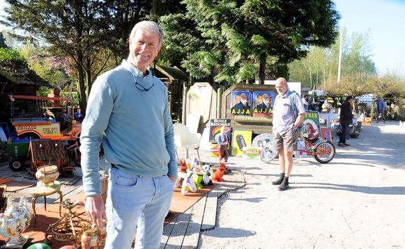 Paul Moers stampt nieuwe brocantemarkt uit de grond.